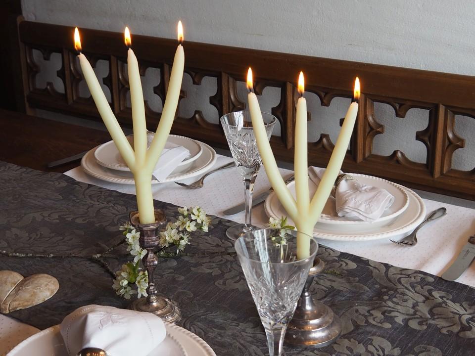Brauchtumskerze Festtagskerze Hochzeitskerze