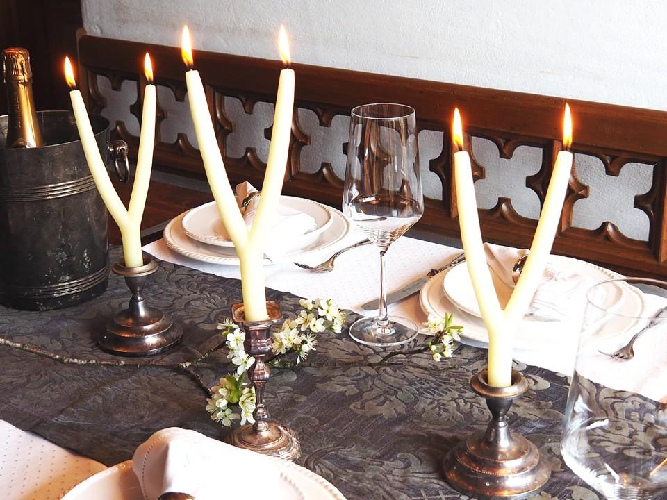 Brauchtumskerzen Ideen Hochzeit Inspiration Hochzeitsdeko Kerze mehrarmig