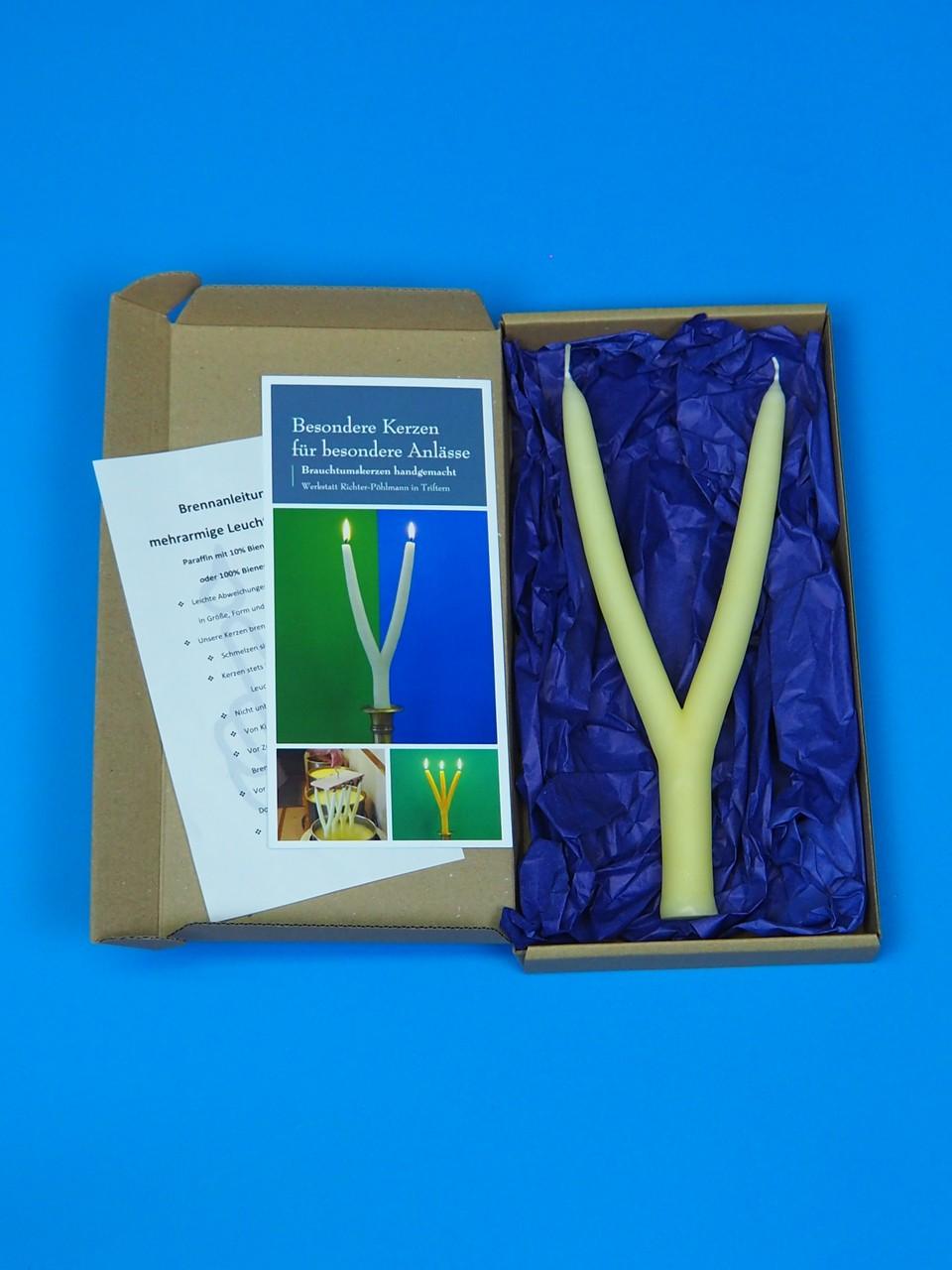 Brauchtumskerzen Kerzenarten Verpackung